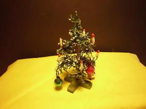 altes Erzgebirge, Weihnachtsbaum, Christbaum Puppenstube Kaufladen
