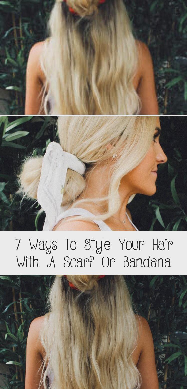7 Möglichkeiten, Ihr Haar mit einem Schal oder Kopftuch zu stylen – HairStyles NailStyles