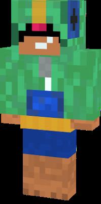 Brawl Stars Leon в 2020 г Minecraft скины леон и игры