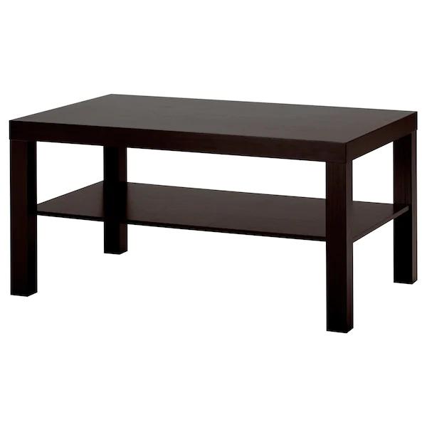 Lack Table Basse Brun Noir 35 3 8x21 5 8 90x55 Cm En 2020 Table Basse Carree Table Basse Table Basse Carree En Verre