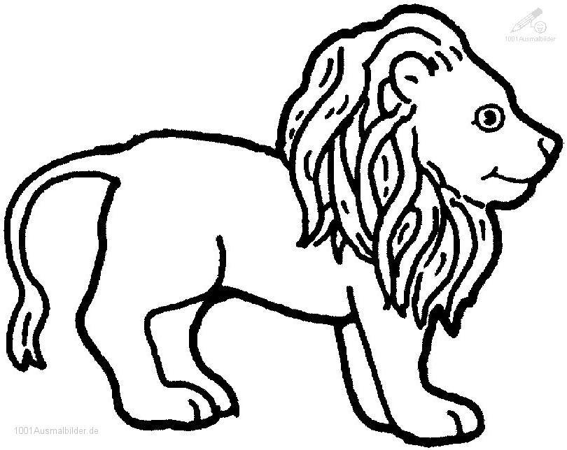 1001 Ausmalbilder Ausmalbilder Für Kinder Ausmalbilder Lion