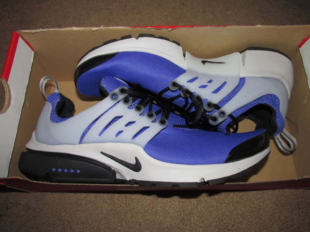 cheap for discount 268dc dcca3 Nike Air Presto Mens Running Shoes S 9-10 Persian Violet Black White 305919  501…