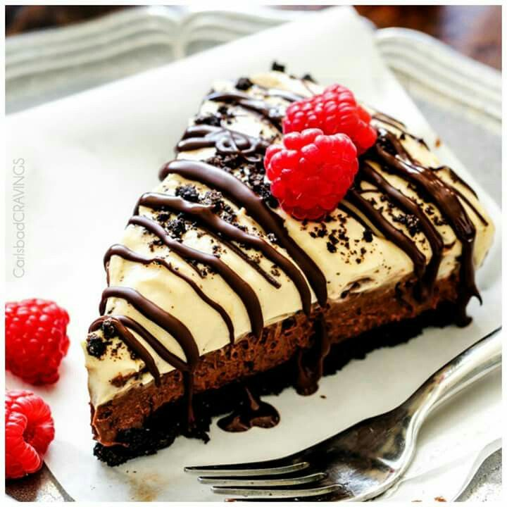 choc  mousse cheesecake