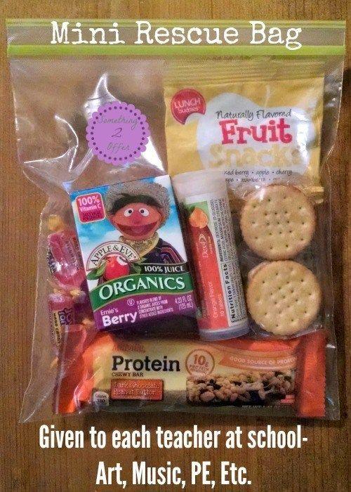 Type 1 Diabetes Rescue Boxes for Back to School - #type1diabetes