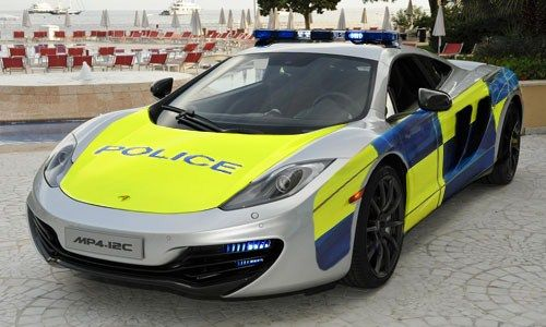 mclaren police car | police cars | pinterest | cars, mclaren mp4 and