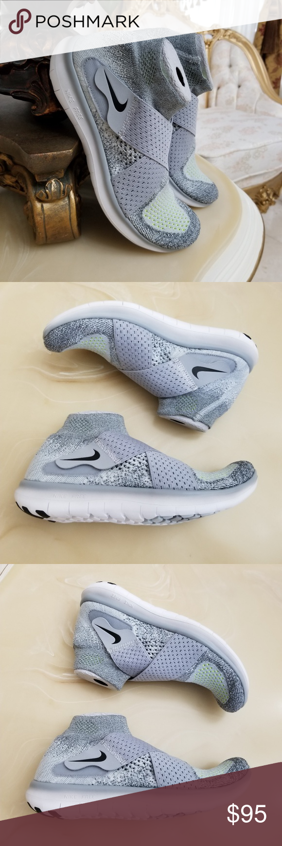 new arrival 0bb90 d192b Nike Women's Free RN Motion Flyknit 2017 New Without Box ...