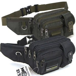 b16208208e19 New Black Green Waist Fanny Pack Bum Belt Bag Pouch Travel Hip Purse Mens  Women