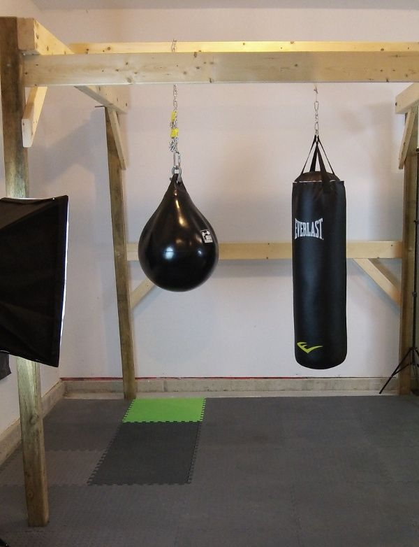 Diy Punching Bag Setup I So Need This Sorry Honey Another Thing On Your To Do List