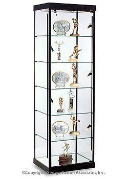 L21blklgtv2 7 Jpg 250 350 Glass Cabinets Display Glass Shelves Display Shelves
