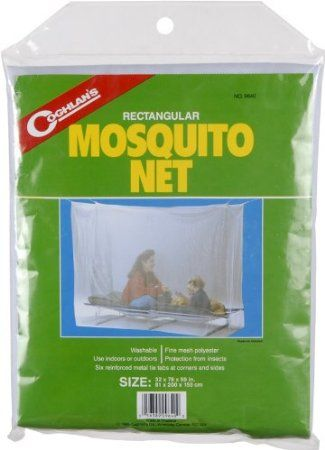 Coghlans Mosquito Net Single, White