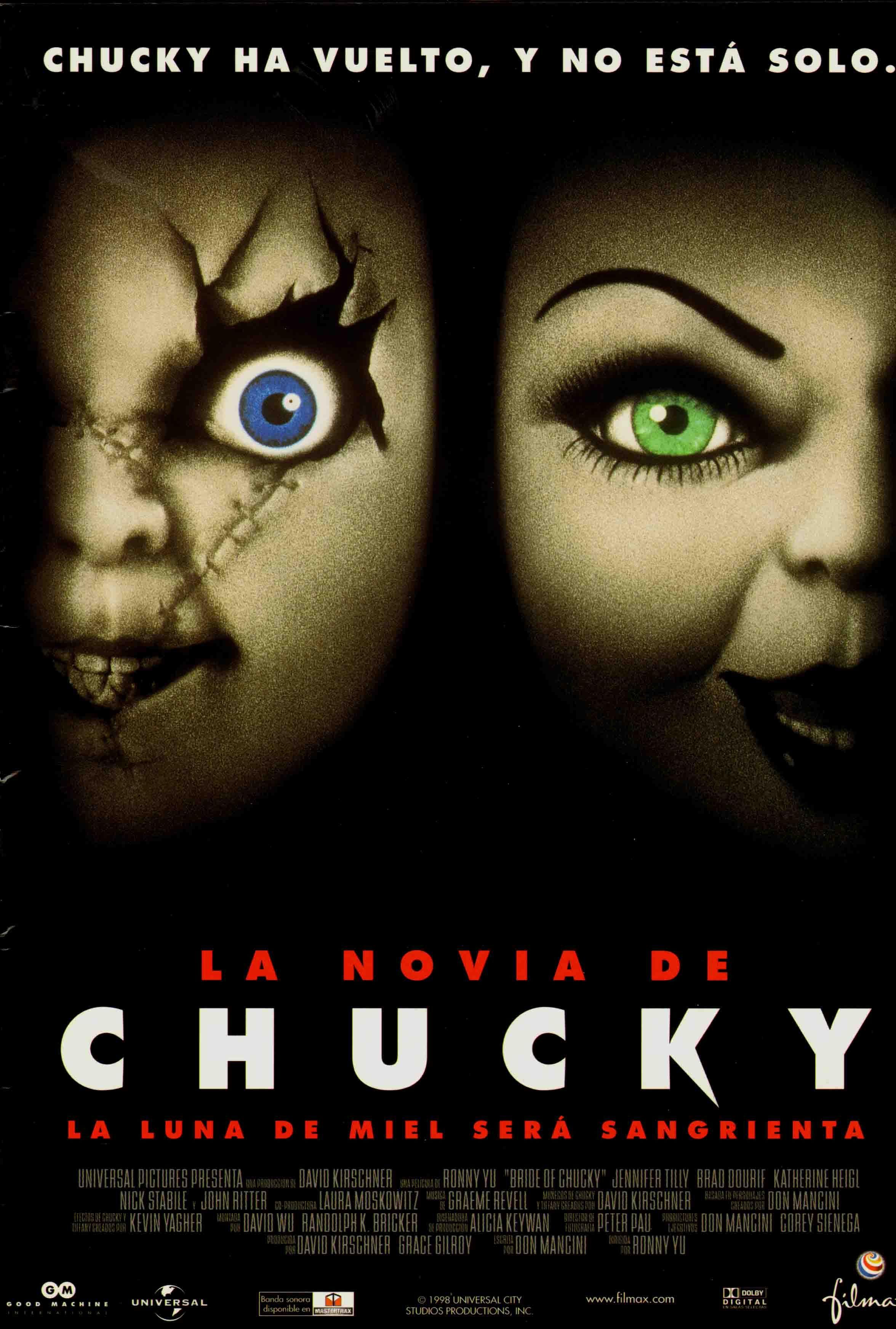 La Novia De Chucky La Novia De Chucky Chucky Comedia De Terror