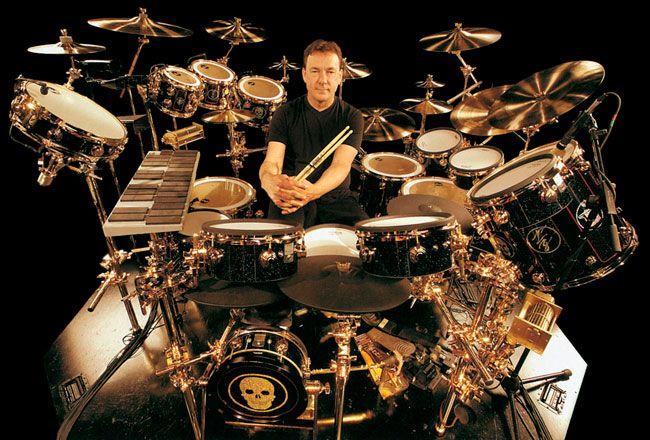 Los Mejores Baterías 1 Drums Neil Peart Drummer