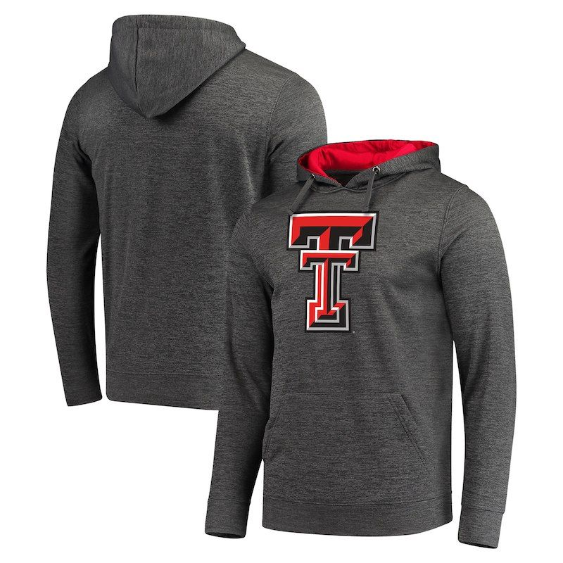 Texas Tech Red Raiders Fanatics Branded Primary Logo Pullover Hoodie -  Charcoal 7684a52bb