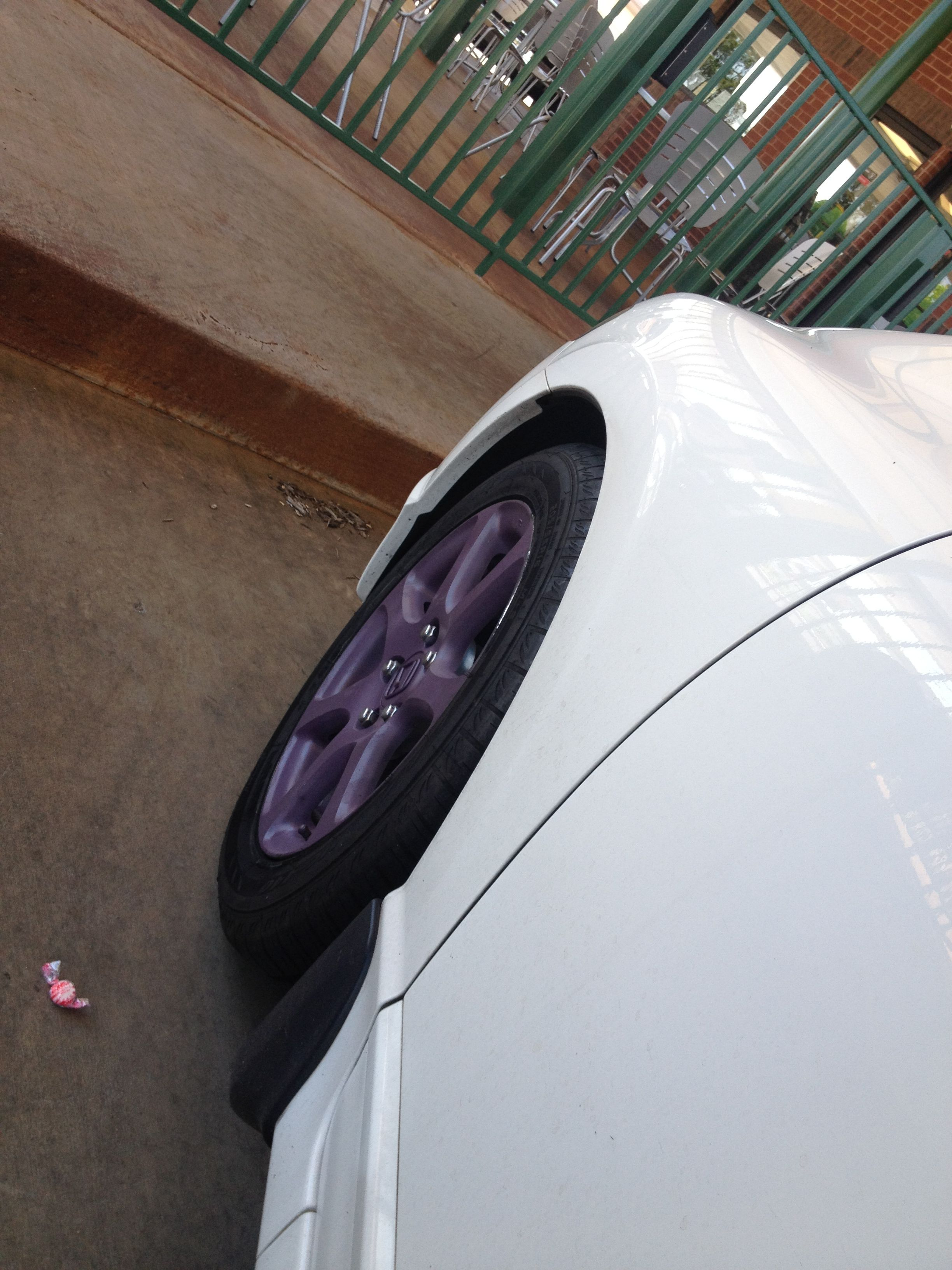 Use Plasti Dip To Change Out The Color Of Your Rims