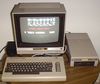 Had this exact setup when I was a kid  Love the Commodore 64