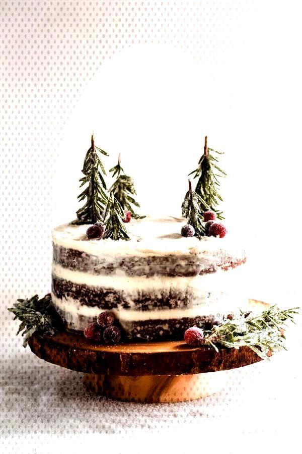 Gingerbread cake with mascarpone cream cheese frosting dessert - Cake - Gingerbread cake with masc