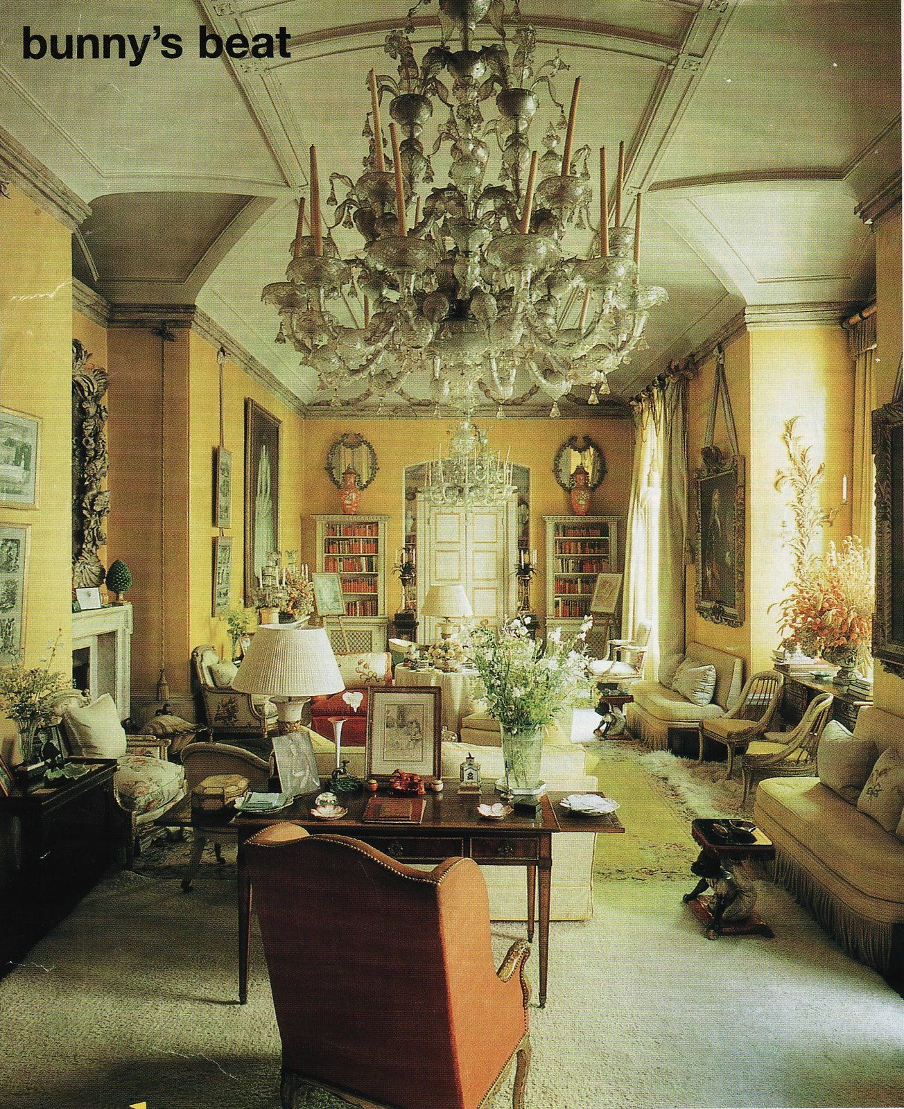 Bunny Love An Affair With A Room English Country House Yellow Room New Modern House