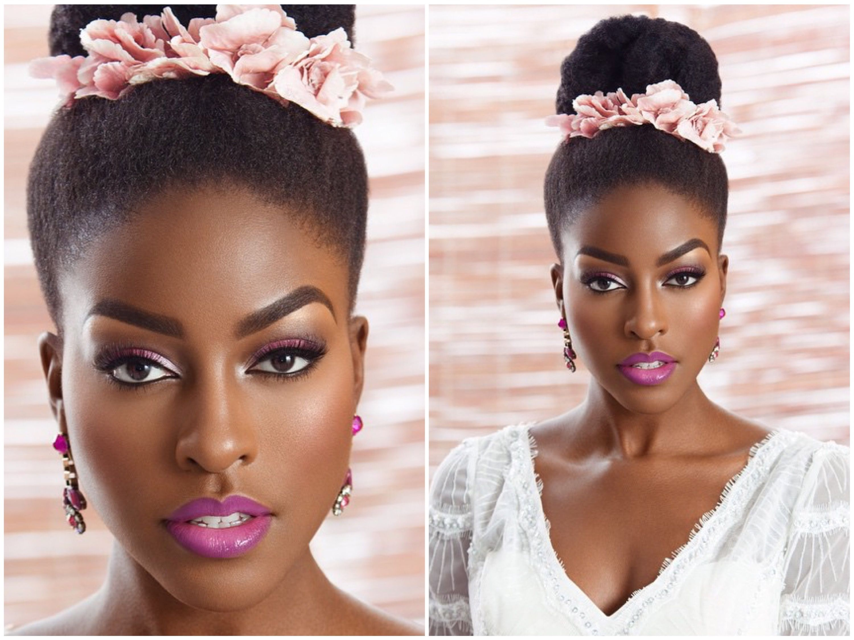 Nigerian Wedding Presents Flawless Bridal Makeup By Joy Adenuga Mua For Black Hair Magazine