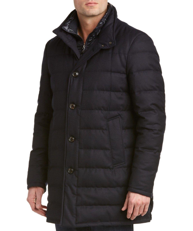 cc88f946e MONCLER MONCLER VALLIER WOOL FLANNEL COAT'. #moncler #cloth #coats ...