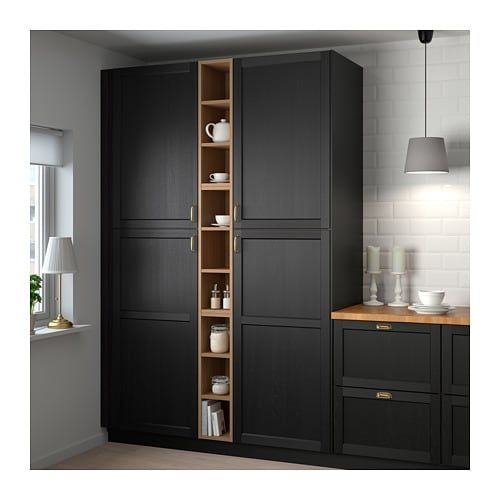 Best Ikea Vadholma Brown Stained Ash Open Storage Diy 640 x 480