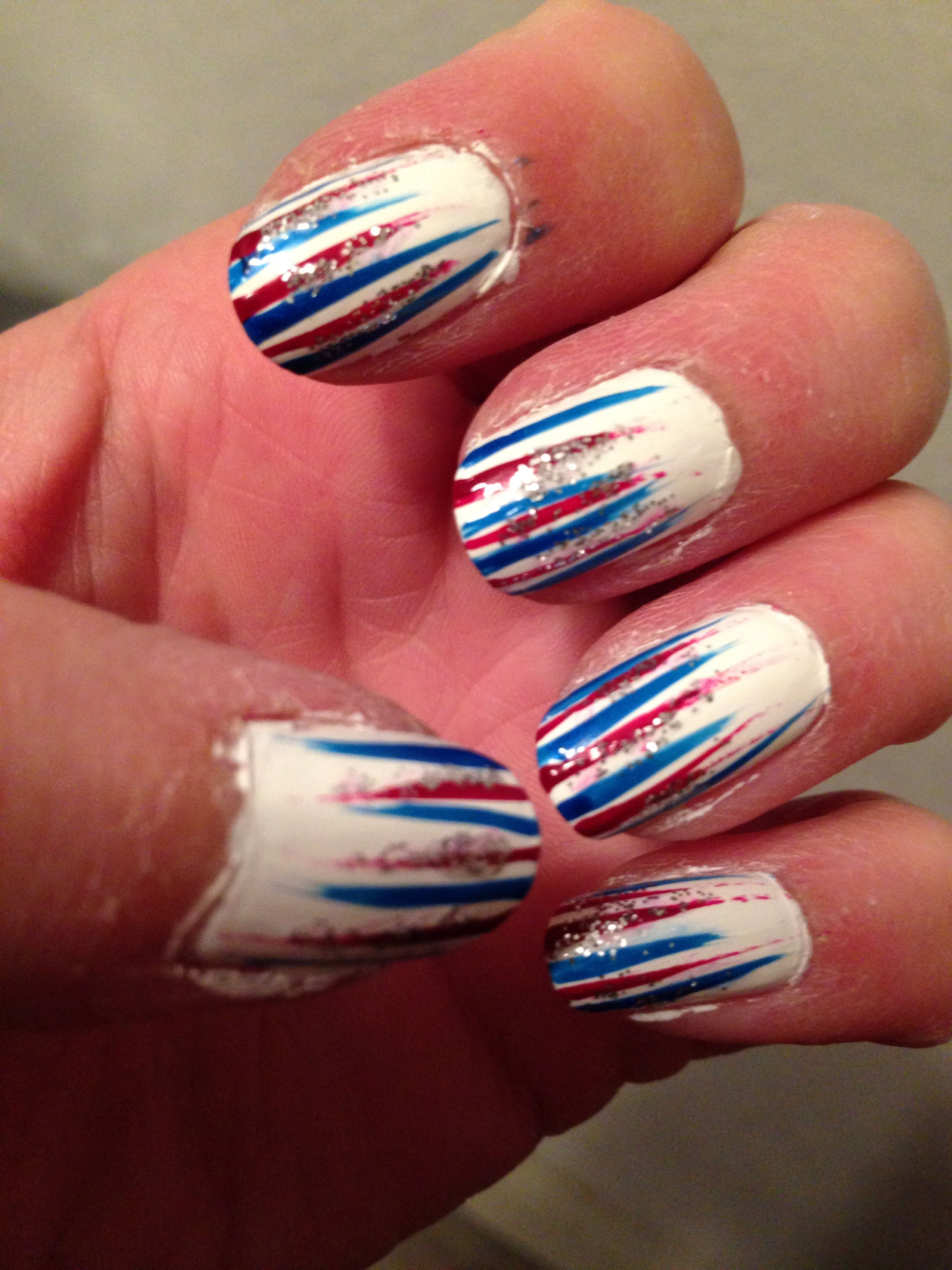 Happy 4th Of July My Nails Happy 4 Of July Nails