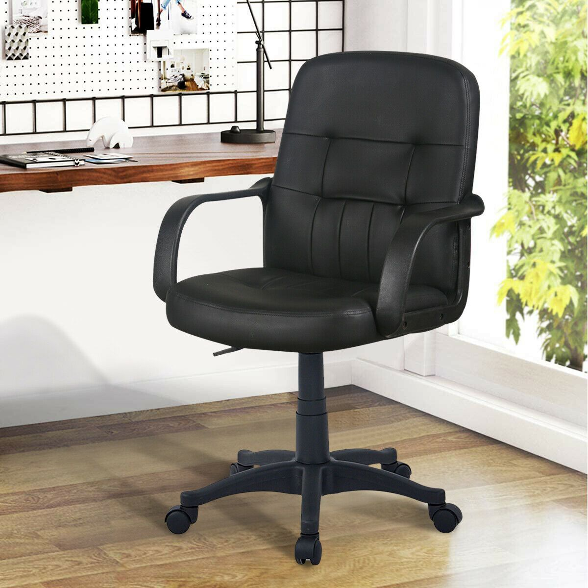 Swivel Desk Chair in 2020 Swivel chair desk, Adjustable