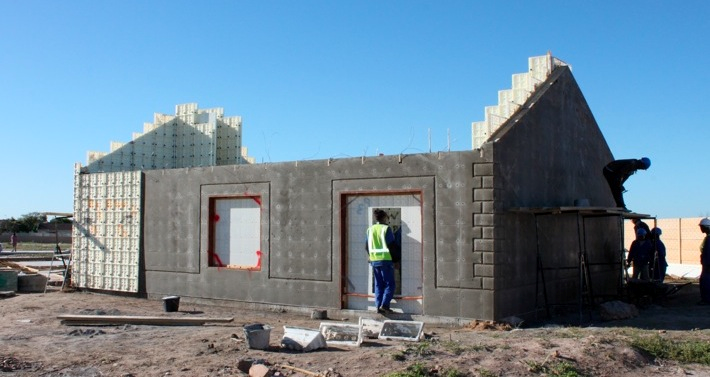 moladi building system - modular plastic formwork - mass housing