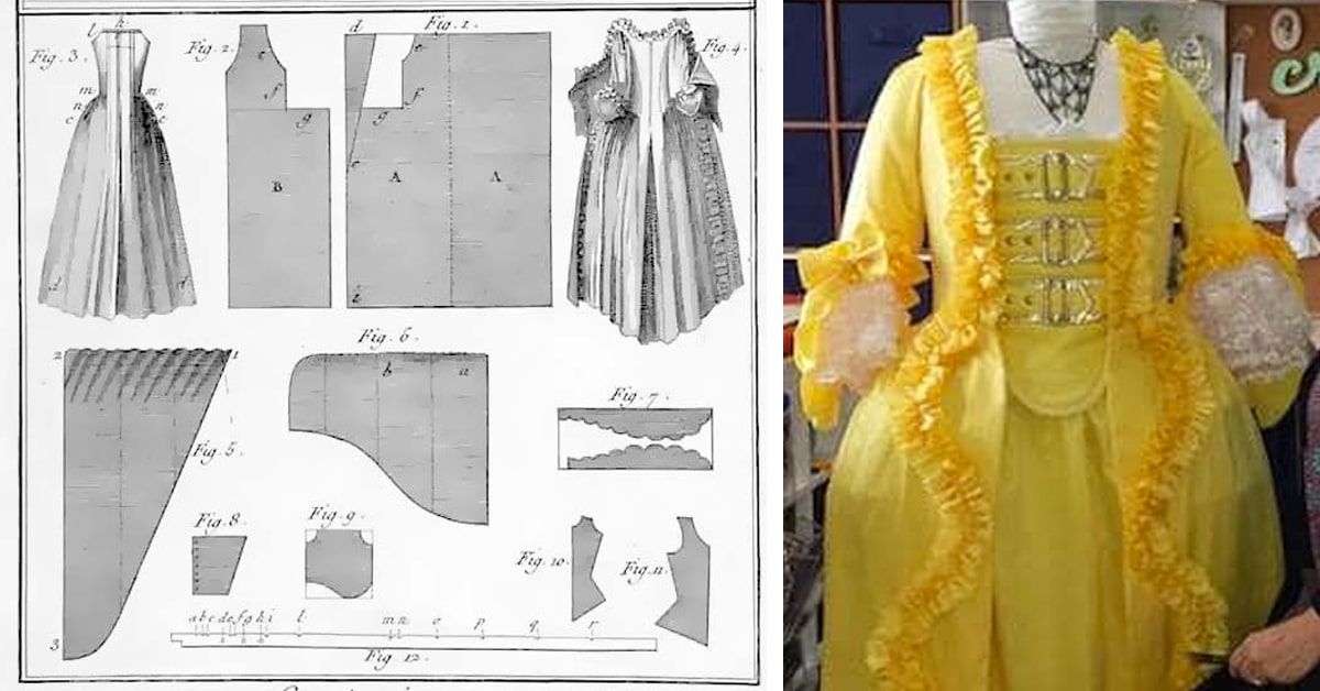 Extensive Resource of Free Historical Costume Patterns Online ...