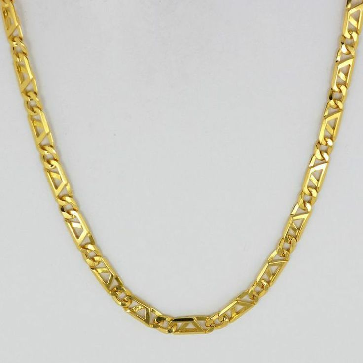 italian s chain chains thick gold width com yellow curb product dhgate gf necklace men from