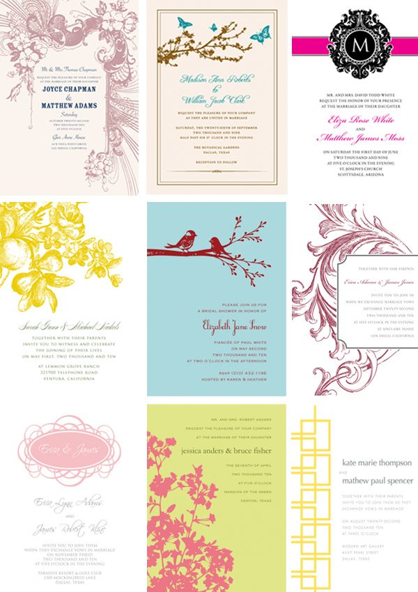 Design it yourself DIY Printables Download and Print Wedding - free invitation template downloads