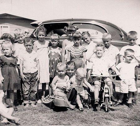 Baby boom children in the 1950's | Baby boomer years, Just ...