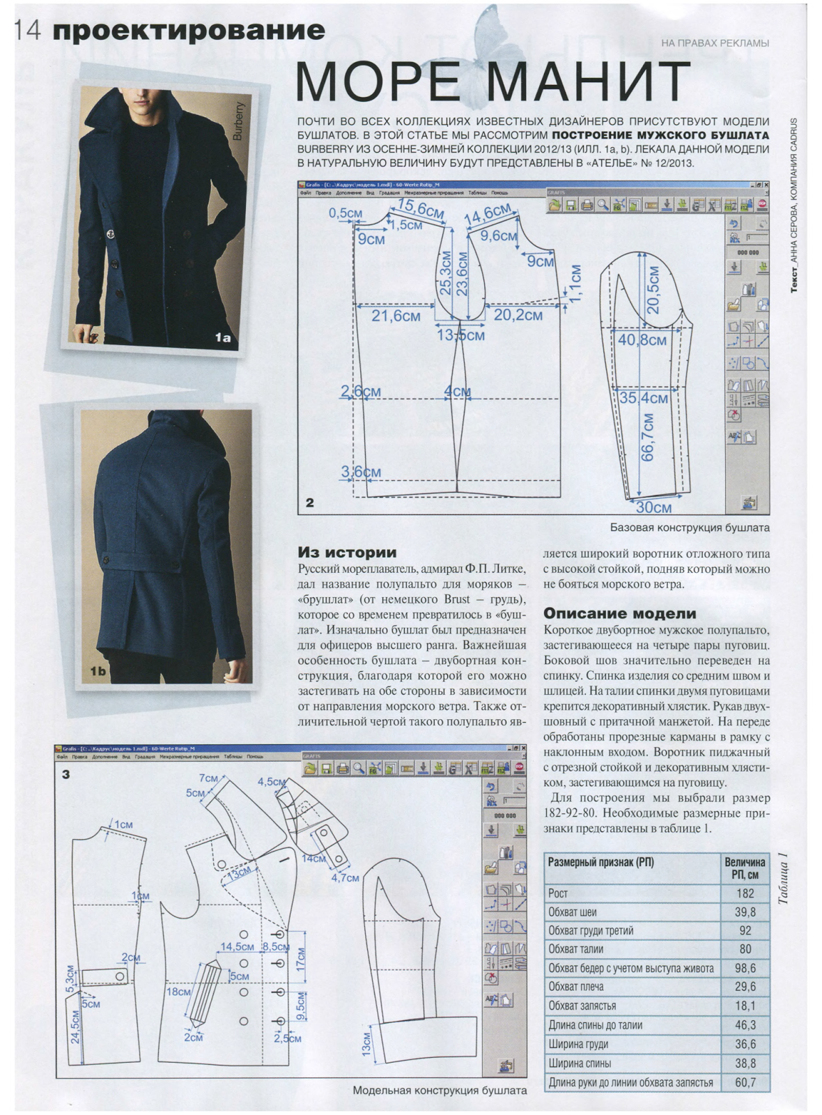 male mounting patterns - modelist kitapları | Moldes masculinos ...