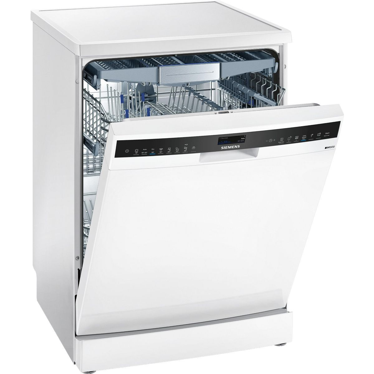 Lave Vaisselle 60 Cm Sn258w06te Home Connect Lave Vaisselle Lave Vaisselle Pose Libre Et Lave Vaisselle Siemens