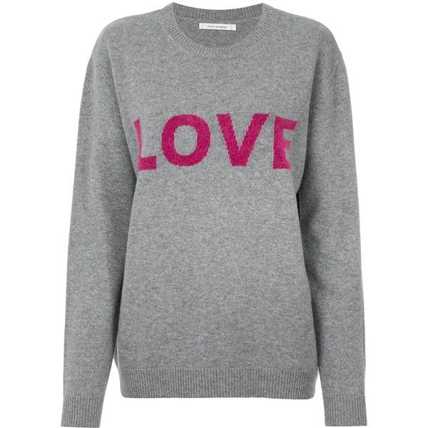 crew neck jumper - Pink & Purple Chinti and Parker
