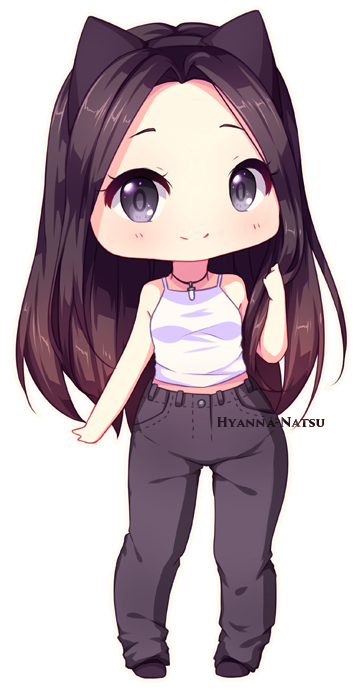 Celshading Chibi Commission For Carol Yay Yay More One Super Cute