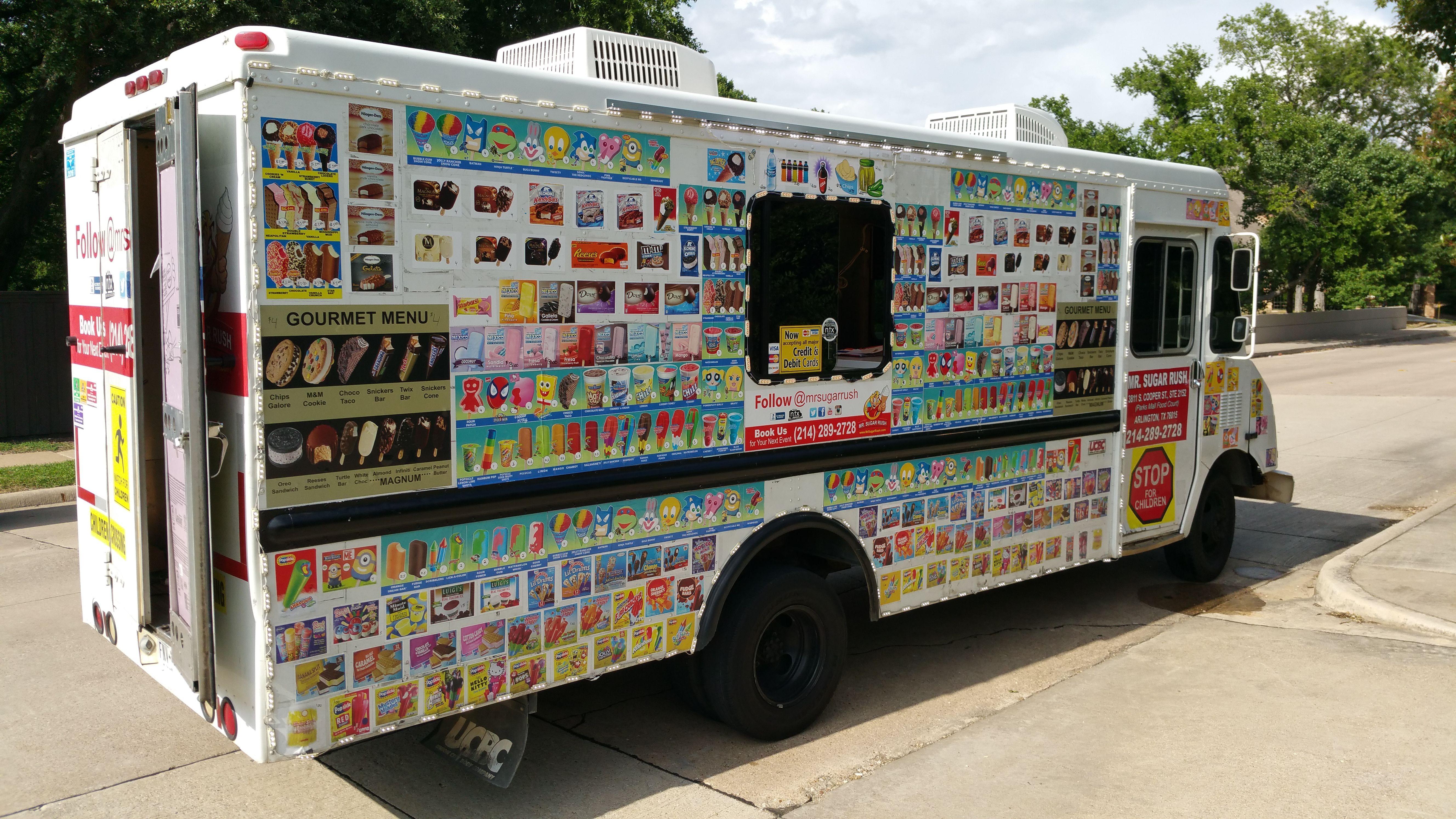 Dallas fort worth ideas for a food truck wedding ice