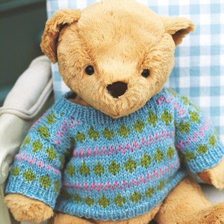 11945_ted | Teddy bear knitting pattern, Teddy bear ...
