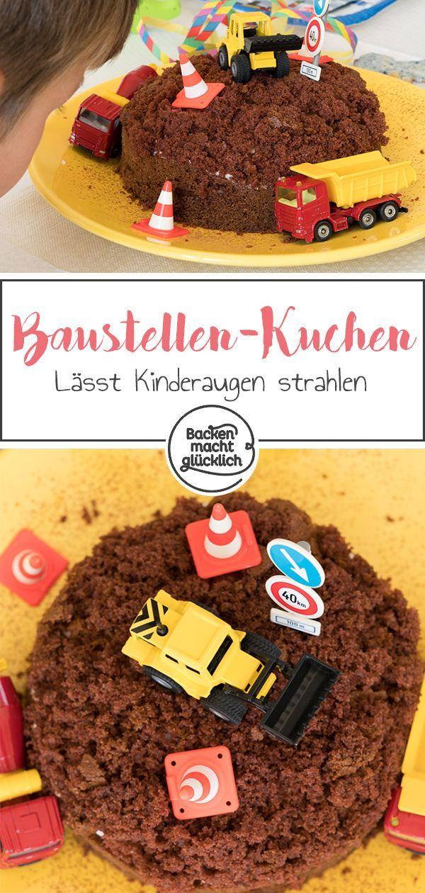 Einfacher Aufbaukuchen   - Backen mit Kindern Rezepte -