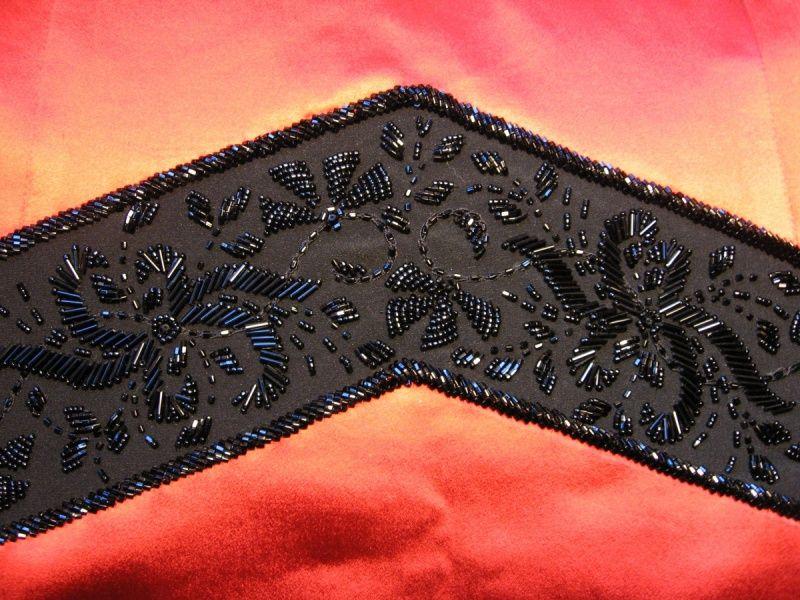 Вышивка пояса бисером схема