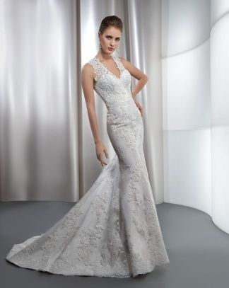 Ultra Sophisticates Style 1435 By Demetrios A Quick Wear Gown Meaning It S Available