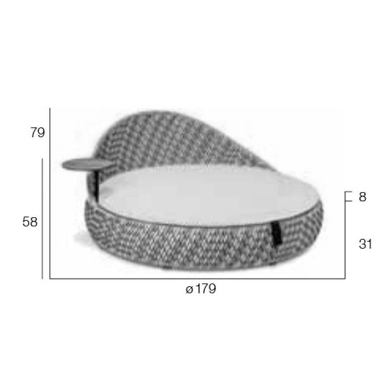 Dedon Dala Loveseat Sofainsel DEDON Pinterest - carbonfaser armlehnstuhl design luno