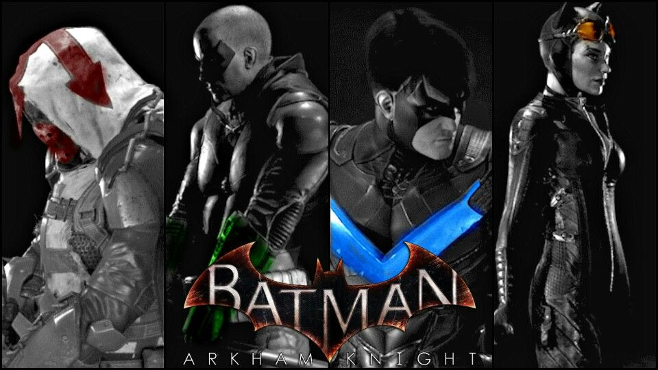 Batman Arkham Knight Playable Characters Com Imagens