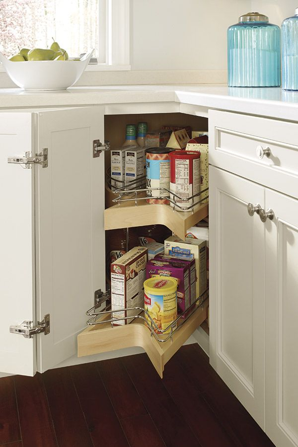 Our Lazy Susan Cabinet With Pullout Is Another Versatile Option To Make The Most Out Of Corner Storage