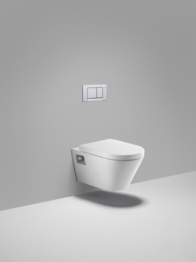 more cost effective unit brighton lw6030 dual flush wall mounted toilet in white - Wall Mount Toilet