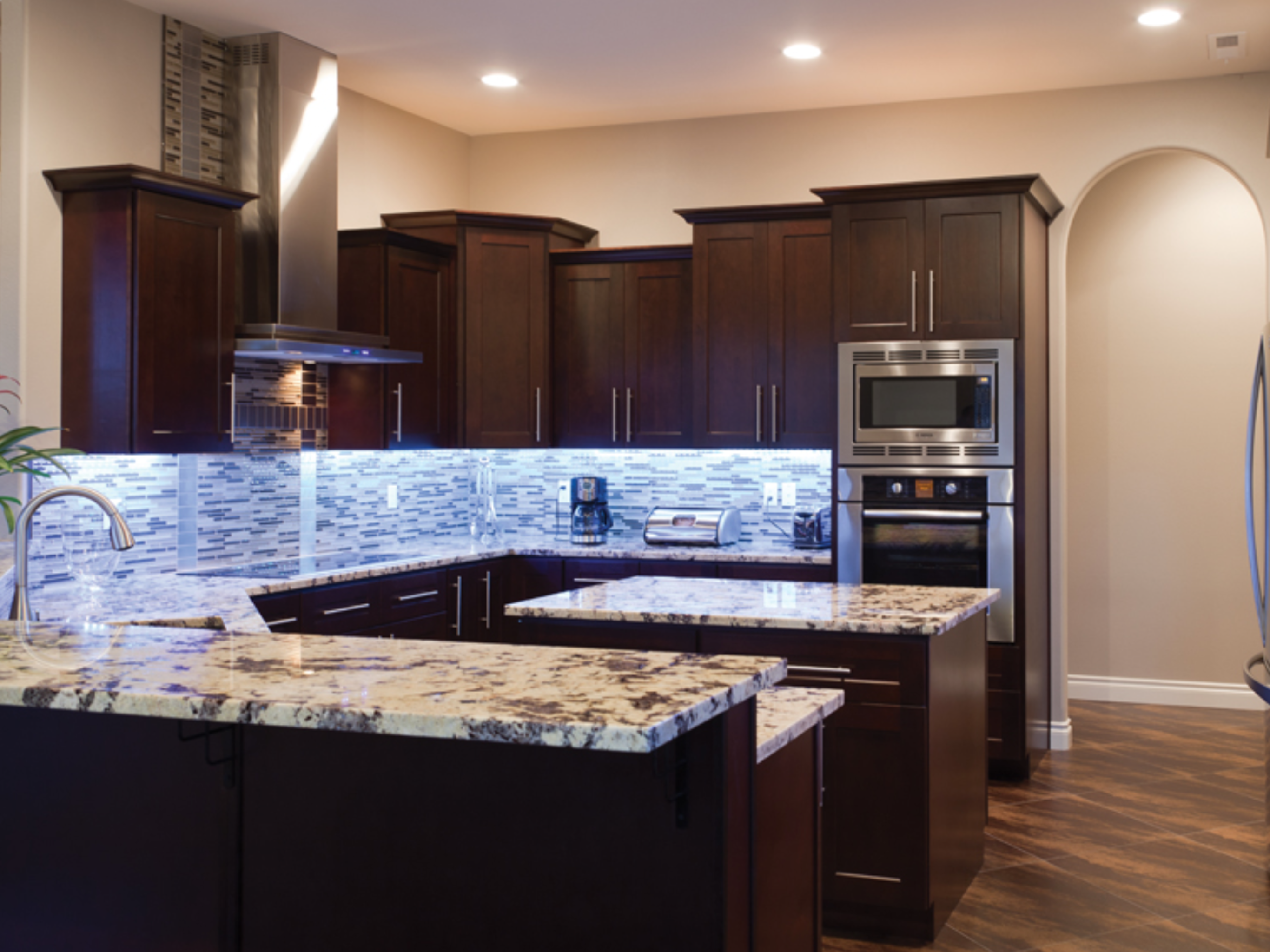 Pin by abc kitchens on Java Coffee Maple Cabinets | Custom ...