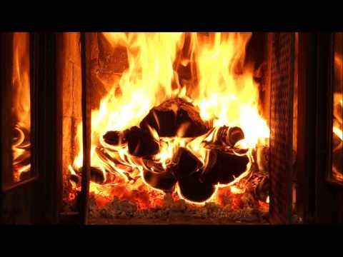 Perfect Christmas Fireplace Full HD 1080p perfect crackling