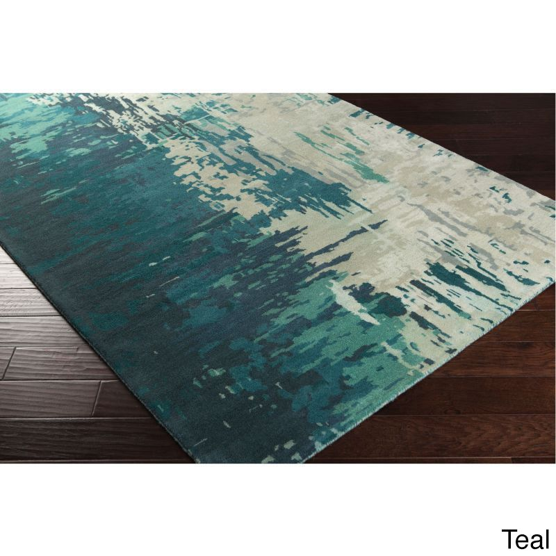 Hand Tufted Lucas Abstract New Zealand Wool Area Rug X Ping Great Deals On Rugs
