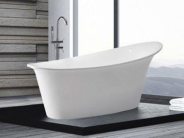 La baignoire îlot fait le design de la salle de bain   Design ...