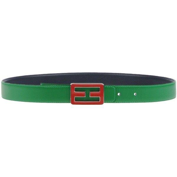 Tommy Hilfiger Belt (€55) ❤ liked on Polyvore featuring accessories, belts, green, buckle belt, green belt, tommy hilfiger belt and tommy hilfiger