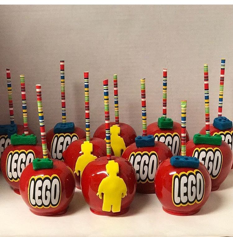 Lego Candy Apple Candy Apples In 2019 Gourmet Candy
